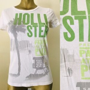 HOLLISTER California PARTY at the PIER Tee Shirt S